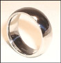 High Polished Stainless Steel Band  (8 mm) Ring I