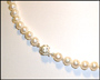 Pearl Necklace with Decorative Clasp (Plus Size)