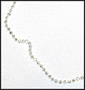 Diamond Cut Silver Ankle Bracelet
