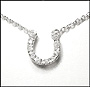 Horseshoe Sterling Silver Necklace