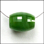 Spinning Wheel Natural Green Jade Necklace