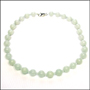 Nature Burma Round Jade Necklace