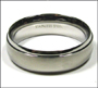 Men's Stainless Steel Spin Ring Plus Size 13, 14 , 15