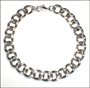 Men's Stainless Steel Cable Link Bracelet