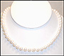 """Cultured Pearl Necklace (7 - 7.5 mm) in 14K Gold (16"""")"""