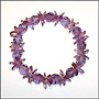 Amethyst Color Slip On Bracelet