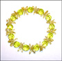 Peridot Color Slip On Bracelet