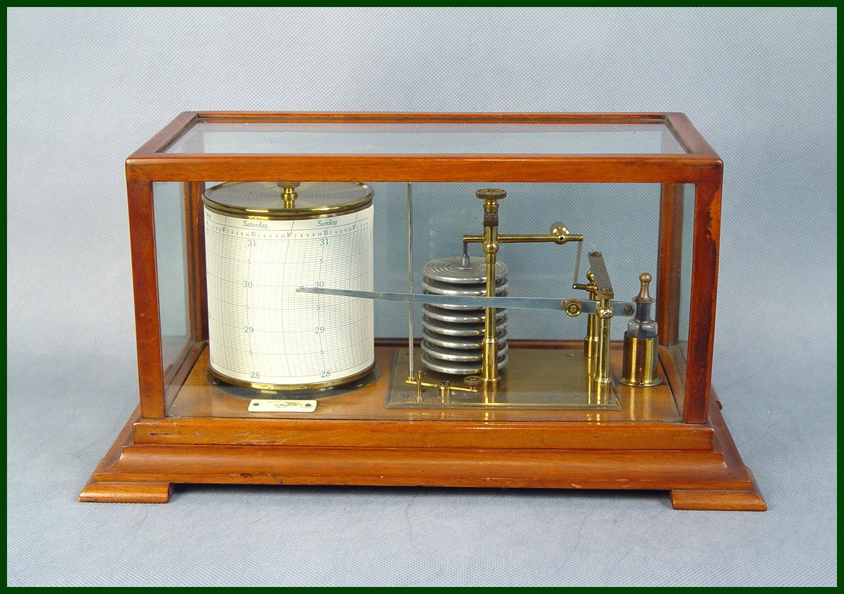 """Weathervanes >> SALE - Tycos """"Stormograph"""" Barograph - $1.00 - Fine Weather Instruments - The Weather Store"""