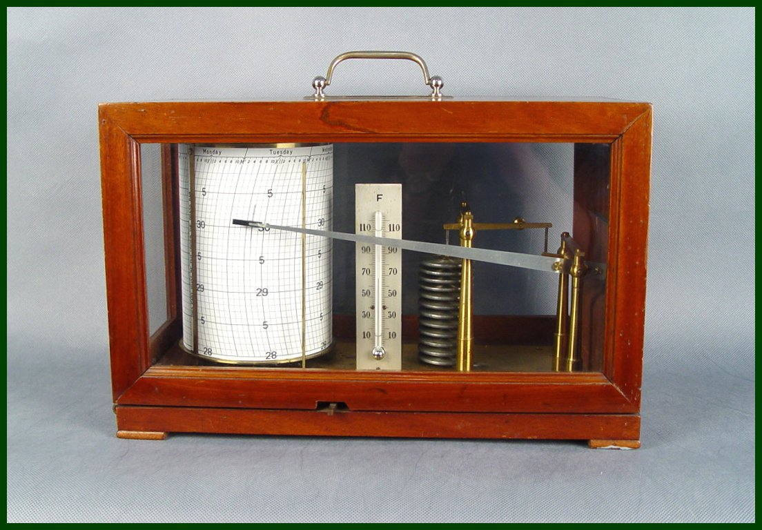 Sale French Barograph 1 00 Fine Weather Instruments
