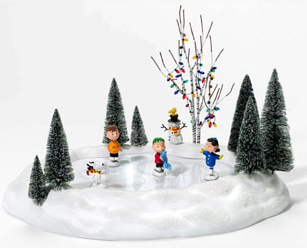 Click To Enlarge Charlie Brown Christmas Magnetic Motion Ice Skate