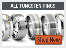 All Tungsten Carbide Rings