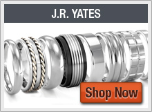 Modern Mens Wedding Bands, Rings and Jewelry by J.R. YATES