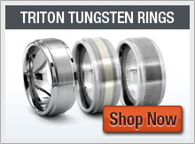 TRITON Tungsten  Rings