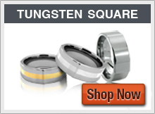 Tungsten Rings - Uniquely Square