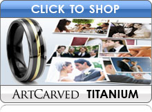 Artcarved Titanium Wedding Bands