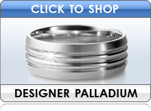 Palladium Wedding Bands by Designer