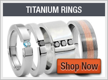 Titanium Rings by Lashbrook Designs