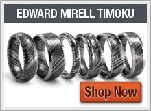 Timoku Wedding Bands by Edward Mirell