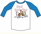 Kids Bed Baseball T-Shirt