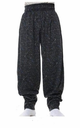 T. Micheal Baggy Pants- Factory Direct  # 928- Blue Sparkle