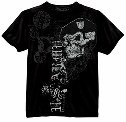 """US Army """"Skull with Beret"""" T-Shirt- Style 80415"""