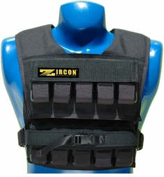 75 lb. Zicorn Short Body Weight Vest