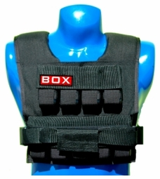 25 lb. Box Weighted Vest