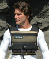 25 lb. V-Max Short Body Weight Vest