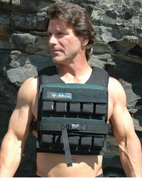 100 lb. V-Max Short Body Weight Vest