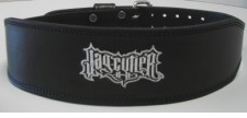 "New- Schiek J2014   4"" Black Leather Jay Cutler Signature Belt"