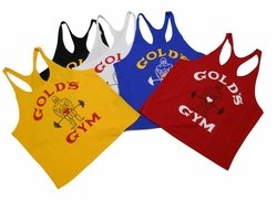 "New- Gold's Gym ""Old Joe"" Stringer Tank Top- #ST-2"