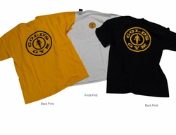 Gold's Gym Plate Tees- #BT-96