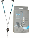 Life Blue Tube Air EMF Protection Stereo Earbuds Headset