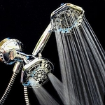OxyBlast Duo 12 Spray Shower Filter with Oxygenics Showerhead