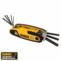 DeWalt DWHT70262M Folding Hex Key Set