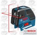 Bosch GCL25 Self Leveling 5-Point Alignment Laser with Cross-Line