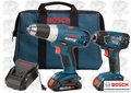 Bosch CLPK23-180 Cordless Lithium-Ion Slim Pack 2-Tool Combo Kit