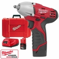 "Milwaukee 2451-22 M12 3/8"" Square Drive Impact Wrench with Ring"