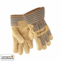 Carhartt A123-BRN-MED Lined Suede Cowhide Palm Gloves