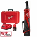 Milwaukee 2456-21 M12 Cordless 1/4'' Ratchet Kit
