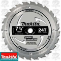 Makita D-24826 24 Tooth Carbide General Contractor's Blade