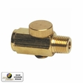 Astro Pneumatic 5706 Brass Air Pressure Regulator/Cheater Valve