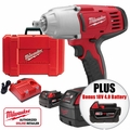"Milwaukee 2662-22 1/2"" High Torque Impact Wrench with Pin Detent Kit"