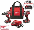 Milwaukee 2691-22 M18 2-Tool Combo Kit