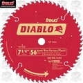 Freud D0756N Non-Ferrous Metal and Plastic Cutting Saw Blade