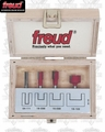 Freud 90-106 Undersized Plywood Router Bit Set