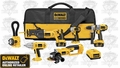 DeWalt DCK675L Heavy-Duty XRP Cordless 6-Tool Combo Kit