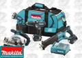 Makita LXT401 18 Volt LXT Lithium-Ion Combo Kit
