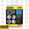 "Stanley TRA706-5C 3/8"" Heavy Duty Narrow Crown Staples"
