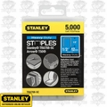 "Stanley TRA708-5C 1/2"" Heavy Duty Narrow Crown Staples"
